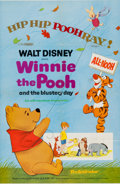 Memorabilia:Poster, Winnie the Pooh and the Blustery Day Movie Poster One Sheet(Walt Disney, 1968)....