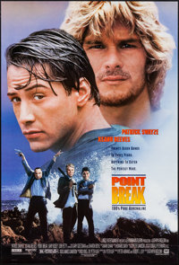 """Point Break & Other Lot (20th Century Fox, 1991). One Sheets (2) (27"""" X 40"""") DS & SS. Action. ... (Tot..."""