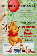 Memorabilia:Poster, Winnie the Pooh and the Honey Tree Movie Poster One Sheet(Walt Disney, 1966)....