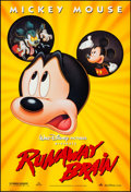 "Movie Posters:Animation, Runaway Brain (Buena Vista, 1995). One Sheet (27"" X 40"") DS.Animation.. ..."