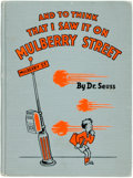 Books:Children's Books, Dr. Seuss. And to Think That I Saw It on Mulberry Street.Eau Claire: E.M. Hale, [1937]. Eighth printing of the spec...