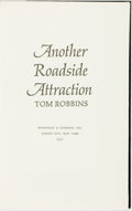 Books:Literature 1900-up, Tom Robbins. Another Roadside Attraction. Garden City:Doubleday, 1971. First edition. Original cloth binding. Spine...