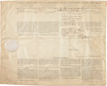 Autographs:U.S. Presidents, Thomas Jefferson Four Language Ship's Paper Signed...