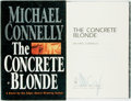 Books:Mystery & Detective Fiction, Michael Connelly. SIGNED. The Concrete Blonde. Boston:Little, Brown, [1994]. First edition. Signed by the author....