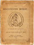 Books:Children's Books, Klaver Oldfellah. The Discontented Monkey; a Tale of a Tail.Boston: C.H. Brainard, 1859. No edition stated. Twelvem...