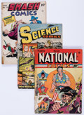 Golden Age (1938-1955):Miscellaneous, Comic Books - Assorted Golden Age Comics Group (Various Publishers, 1940s-'50s).... (Total: 17 Comic Books)