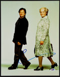 Autographs:Others, Robin Williams Signed Oversized Mrs. Doubtfire Photograph....