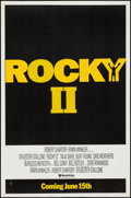 "Movie Posters:Sports, Rocky II & Other Lot (United Artists, 1979). One Sheet & Canadian One Sheet (27"" X 41"") Advance. Sports.. ... (Total: 2 Items)"