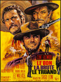 """Movie Posters:Western, The Good, the Bad and the Ugly (United Artists, R-1970s). French Grande (46"""" X 61""""). Western.. ..."""