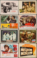 "Movie Posters:War, War Lot (Various, 1940s-1960s). Title Lobby Cards (2) & LobbyCards (68) (11"" X 14""). War.. ... (Total: 70 Items)"