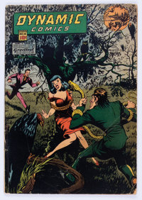 Dynamic Comics #16 (Chesler, 1945) Condition: VG
