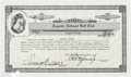 Autographs:Others, 1941 Bobby Jones Signed Augusta National Stock Certificate....