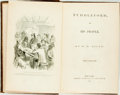Books:Literature Pre-1900, H.H. Riley. Puddleford, and its People. New York: SamuelHueston, 1854. First edition. Twelvemo. Publisher's cloth b...