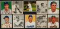 Baseball Cards:Lots, 1948 & 1950 Bowman Baseball Collection (50). ...