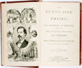 Books:Medicine, A.D. Crabtree. The Funny Side of Physic: or, The Mysteries of Medicine, et al. Hartford: J.B. Burr & Hyde, 1872. Fir...
