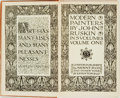 Books:Art & Architecture, John Ruskin. Modern Painters, Vols. I-V. London: J.M. Dent, [n.d., ca. 1906]. First edition. Complete in five twelve... (Total: 5 Items)