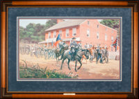 Mort Künstler Distant Thunder (1998) 29 x 17 Inches Print on paper; AP22 of 150 Condition: Very good