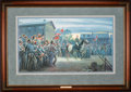 Art, Mort Künstler. Twilight in Gettysburg (1993). 28 x 16 Inches. Printon paper; AP8 of 50. Condition: Very good . Accompanied ...