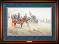 "Art, Mort Künstler. Lee's ""Old War Horse"" (1993). 27 x 17 Inches. Printon paper; AP3 of 50. Condition: Very good . Accompanied b..."