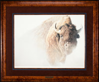 Robert Bateman Chief - American Bison (1997) 27 x 20 Inches Print on paper; SN211 of 950 Condition: Very