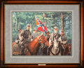 Art, Mort Künstler. Model Partnership (1996). 26 x 19 Inches. Print onpaper; AP22 of 75. Condition: Very good . Accompanied by c...