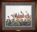 Art, Mort Künstler. Lee's Lieutenants (1997). 23 x 19 Inches. Print onpaper; AP22 of 75. Condition: Very good . Accompanied by c...