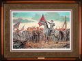 Art, Mort Künstler. The Last Rally (1991). 28 x 18 Inches. Print onpaper; AP21 of 50. Condition: Very good . Accompanied by cert...