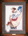 Art, Michael Gnatek. The Texas Brigade, First Texas Volunteer Infantry(1999). 15 x 21 Inches. Print on paper; AP7 of 50. Conditi...