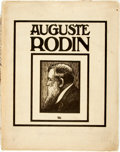Books:Art & Architecture, Gustave Khan. Auguste Rodin. London: T. Fisher Unwin, 1909. No edition stated. Folio. Contains fifty-four tinted il...