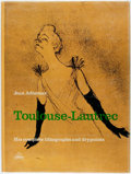 Books:Art & Architecture, Jean Adhemar. Toulouse-Lautrec. His Complete Lithographs and Drypoints. New York: Harry N. Abrams, [n.d.]. Thick fol...