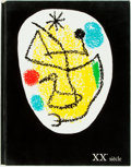 Books:Art & Architecture, [Joan Miro]. [Art Periodical]. Issue of XXe Siecle. December 1968.. Features artwork by Joan Miro and Serge Poliakoff, inclu...
