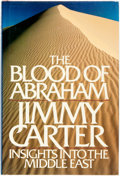 Books:Americana & American History, Jimmy Carter. SIGNED. The Blood of Abraham. Boston: HoughtonMifflin, 1985. First edition. Signed by the author. ...