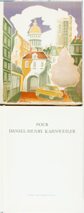 Books:Art & Architecture, [Art]. Pour Daniel-Henry Kahnweiler. London: Thames andHudson, [1966]. First British edition, containing 8 original...(Total: 2 Items)