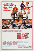"Movie Posters:Western, The Good, the Bad and the Ugly (United Artists, 1968). Poster (40""X 60""). Western.. ..."