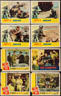 """Movie Posters:War, The Desert Fox & Others Lot (20th Century Fox, 1951). LobbyCards (17), Title Lobby Cards (2) & Lobby Card Set of 8 (11"""" X1... (Total: 27 Items)"""
