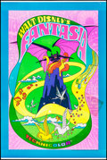"Movie Posters:Animation, Fantasia (Buena Vista, R-1970). Poster (40"" X 60""). Animation.. ..."