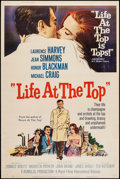 """Movie Posters:Drama, Life at the Top & Others Lot (Royal Films International, 1966). Posters (2) & Silk Screen Poster (40"""" X 60"""") Style Z. Drama.... (Total: 3 Items)"""