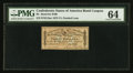 Confederate Notes:Group Lots, $100 1863 $3 Bond Coupon PMG Choice Uncirculated 64.. ...
