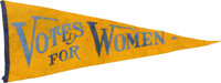 Woman's Suffrage Pennant