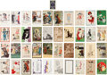 Political:Small Paper (1896-present), Woman's Suffrage: Postcards and Playing Card....