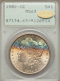 1882-CC $1 MS63 PCGS. Gold CAC. PCGS Population (8548/17372). NGC Census: (4311/8776). Mintage: 1,133,000. Numismedia Ws...