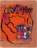 Books:Art & Architecture, Julien Cain. The Lithographs of Chagall. Monte Carlo: Andre Suaret, [1960]. First trade edition. Missing most of t...