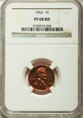 Proof Sets, 1962 Proof Set NGC. This set includes: 1C PR68 Red; 5C PR68; 10C PR68; 25C PR68; 50C PR68.... (Total: 5 coins)