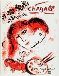 Julien Cain. The Lithographs of Chagall 1962-1968. France: Andre Suaret, 1969. First trade edit