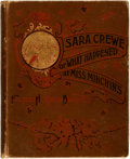 Books:Literature Pre-1900, Frances Hodgson Burnett. Sara Crewe or What Happened at MissMinchin's. Scribner's, 1888. First edition. Original cl...