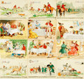 Miscellaneous:Postcards, [Postcards]. Large Group of Musical and French-Themed Postcards.Very good. . ...
