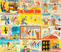 Miscellaneous:Postcards, [Postcards]. Large Group of Comical 1940s and 1950s Postcards. Verygood. . ...