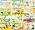 Miscellaneous:Postcards, [Postcards]. Large Group of Comical 1960s Postcards. Very good. ....