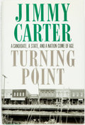 Books:Americana & American History, Jimmy Carter. SIGNED. Turning Point. New York: Times Books, [1992]. First edition. Signed by the author. Publish...