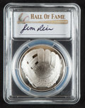 Autographs:Bats, 2014 Jim Rice Signed Baseball Hall of Fame Silver Dollar PCGSPR70DCAM Coin....